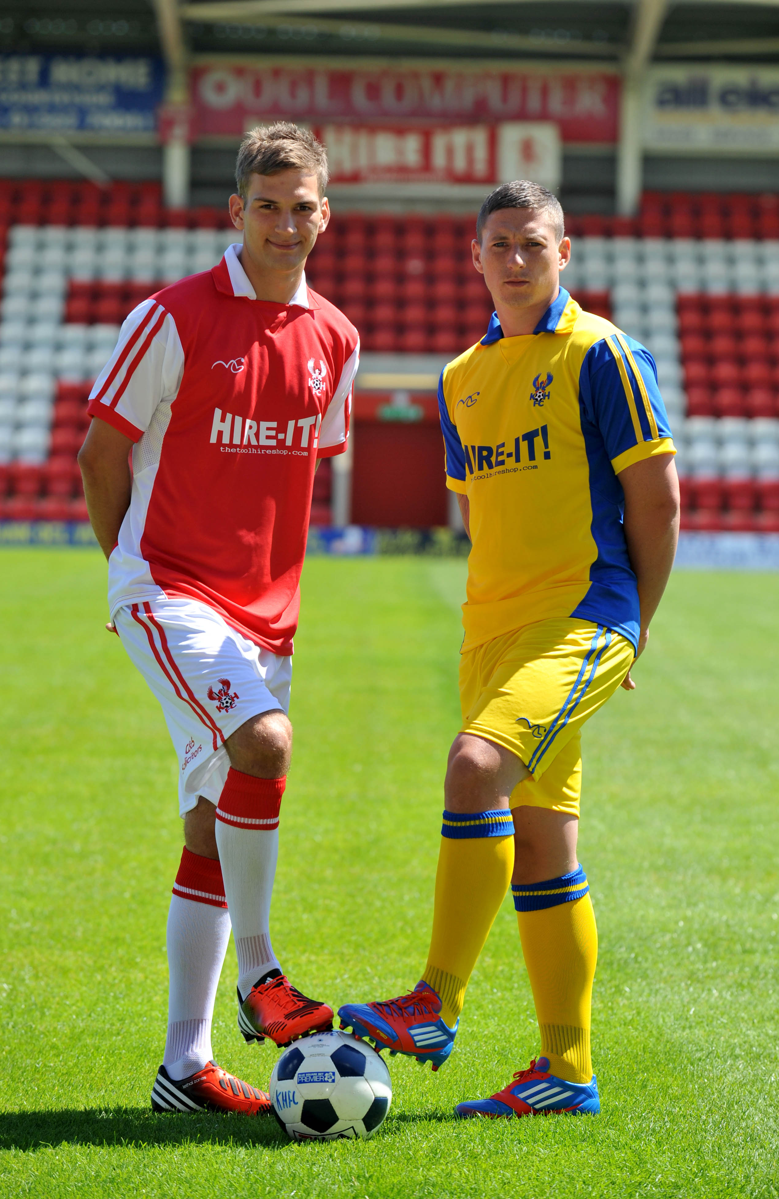 Harriers Kit launched!