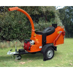 Wood Chipper - H/D - 5in. Cap