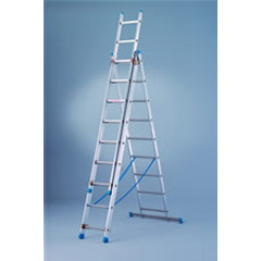 3 Way Combination Ladders, 8ft. - 18ft.